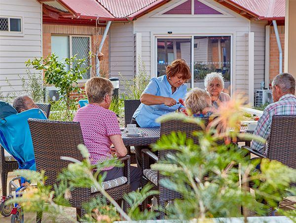 Veterans home care service